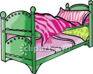 300x239 Bunk Bed Clip Art