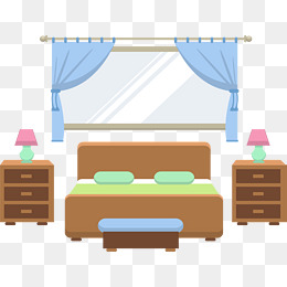 260x260 Bedroom Decoration, Bedroom, Doubles, Sofa Png Image And Clipart