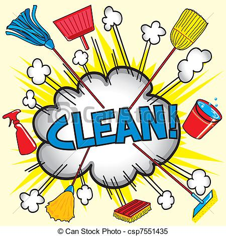 450x470 Clean Bedroom Clip Art Clipart