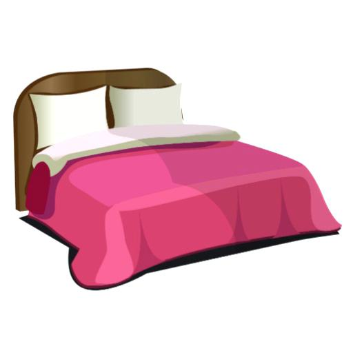 512x512 Bedroom Clipart Cartoon