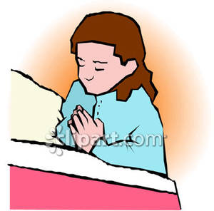 300x296 Night Prayer Clipart