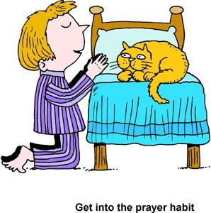 298x300 Bedtime Prayer Clipart