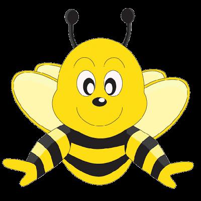 400x400 Clipart Honey Bee