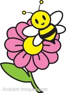 213x300 Flower And A Bee Character Design Bees, Cartoon