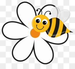 260x240 Honey Bee Flower Bumblebee Clip Art