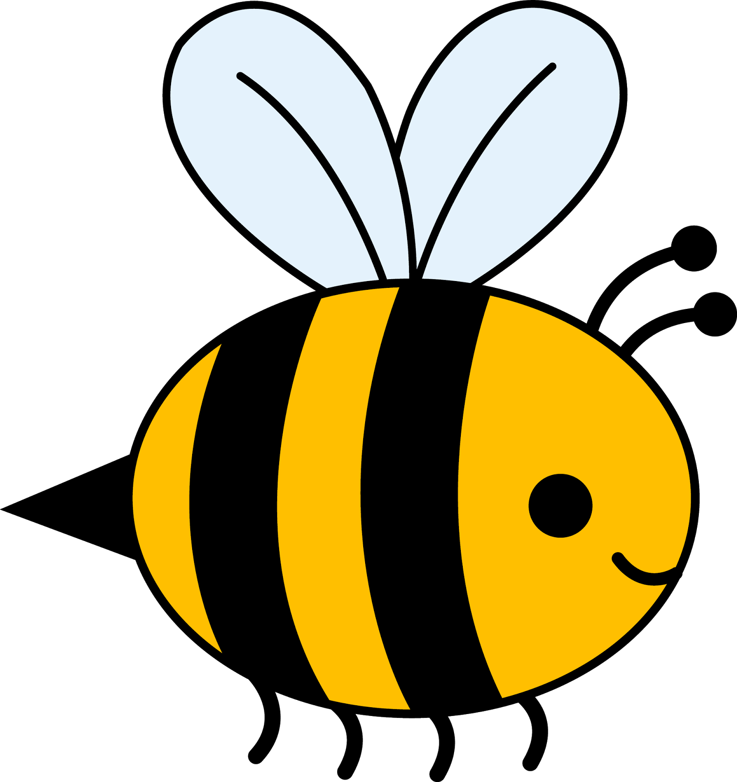 1508x1600 Bee And Flower Clipart Clipart Panda