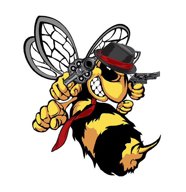595x613 Collection Of Killer Bee Clipart High Quality, Free Cliparts