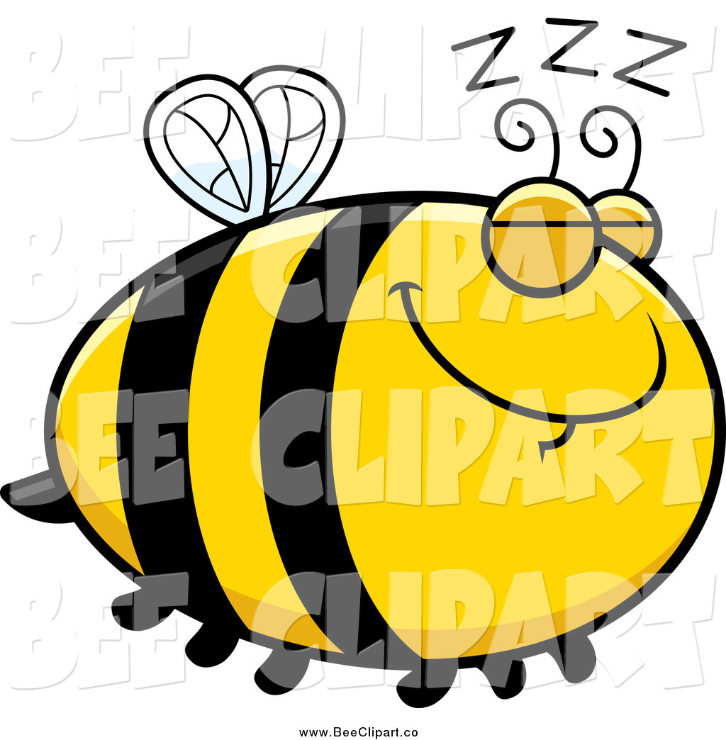 1024x1044 Cartoon Vector Clip Art Of A Chubby Sleeping Bee With Zs By Cory