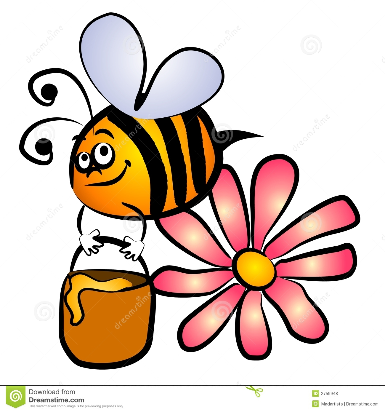 1300x1390 Clip Art Of Bees And Honey Top 84 Free Clipart Spot