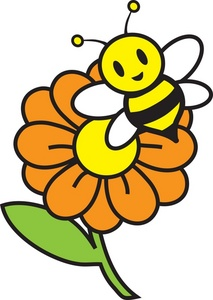 213x300 Bee And Flower Clipart Clipart Panda