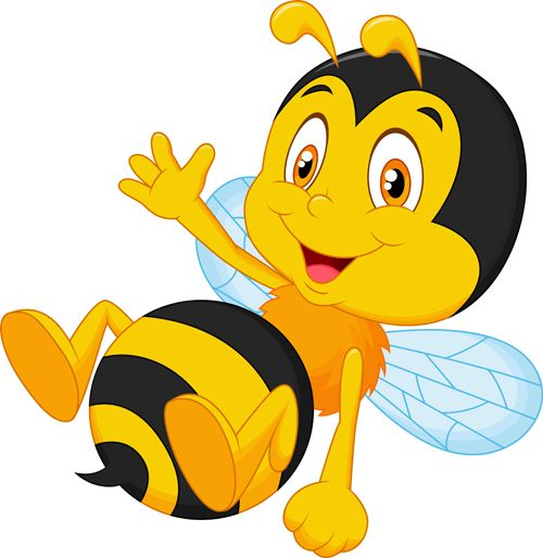 500x514 Lofty Ideas Bees Clipart Cartoon Honey Bee Clip Art 24 Bumble Free