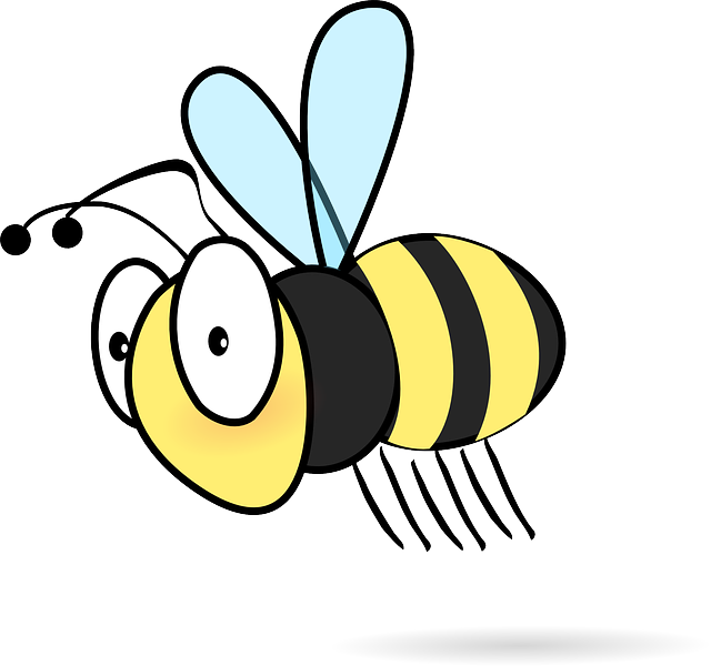 640x600 Animated Bee Pictures Gallery Images)