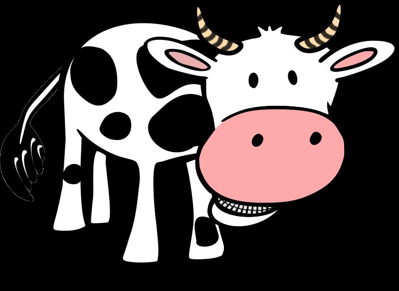 800x583 Cow Clip Art Free Cartoon Clipart Panda