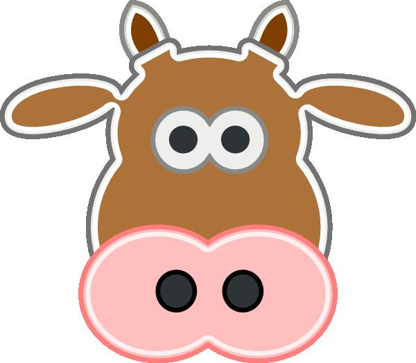 600x524 Cow Clip Art