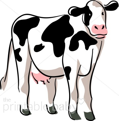 379x388 Smartness Design Cow Clipart Panda Free Images Info Black