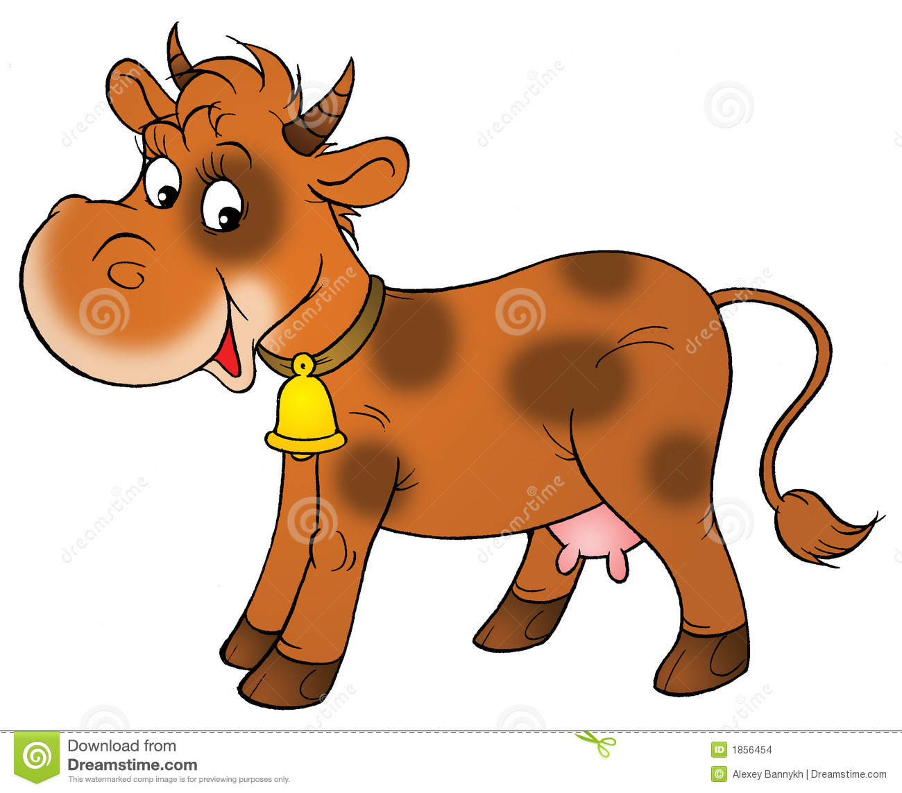 1300x1143 Brown Cow Clipart Clip Art At Clker Com Vector Online Royalty