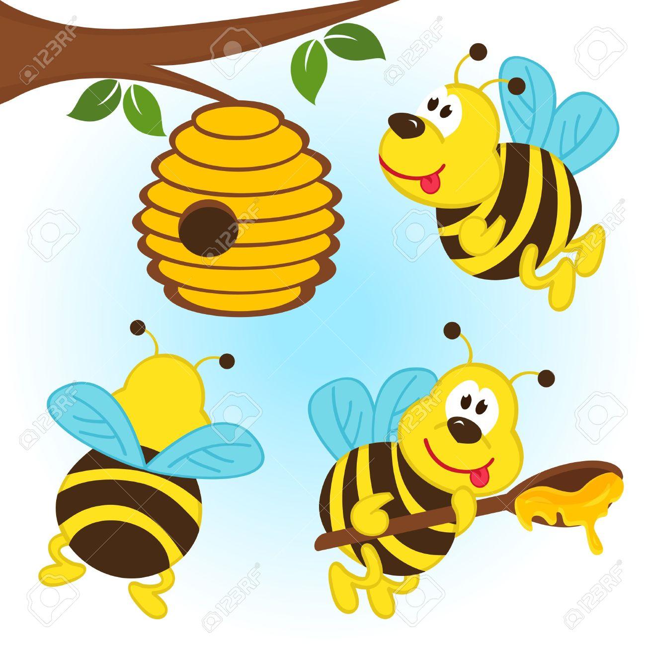 1300x1300 Top 80 Hive Clip Art