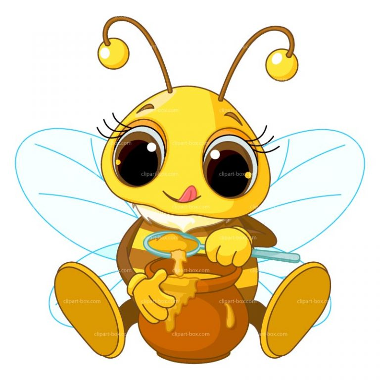 768x768 Bumble Bee Cartoon Clip Art Wallpaper Clipart Bee 3