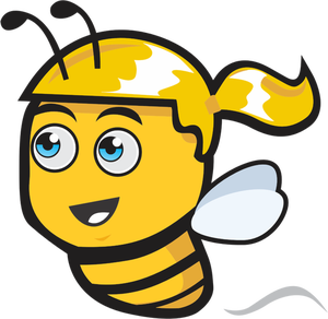 300x292 97 Honey Bee Clip Art Free Public Domain Vectors