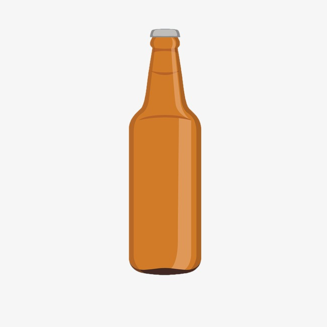 650x650 Gorgeous Beer Bottle Clipart Black With Blank Stickers Royalty