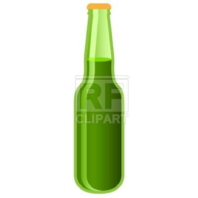 400x400 Green Beer Bottle Free Download Vector Clip Art Image