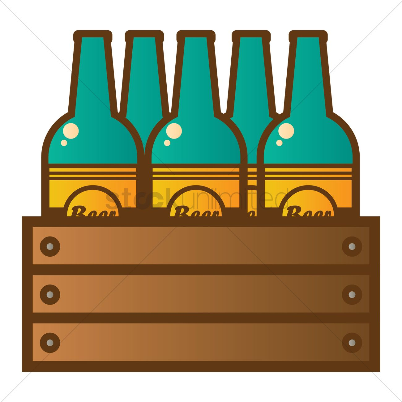 1300x1300 Clipart Beer Bottle Vector Illustration Of Isolated Beer Clip Art