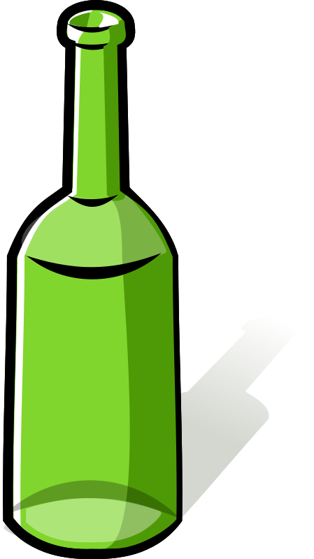 449x800 Bottle Free Stock Clipart