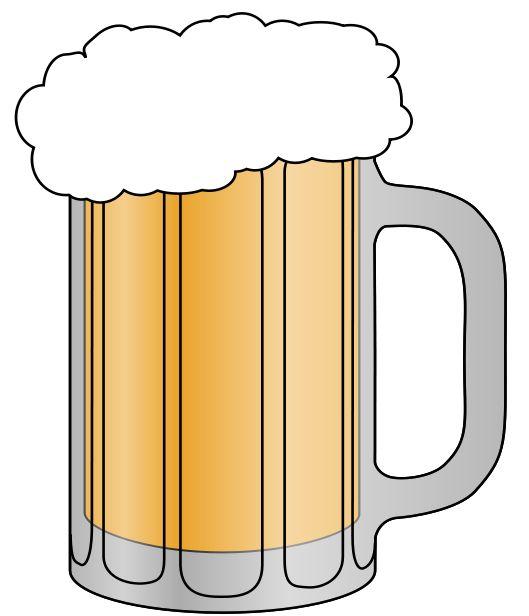 529x616 Beer Clip Art Amp Images