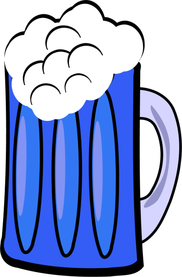 600x913 Beer Mug Cartoon