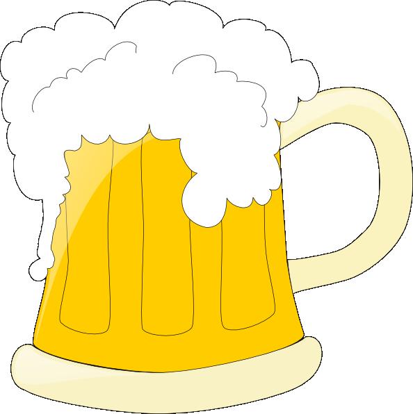 594x596 Beer Mug Clip Art