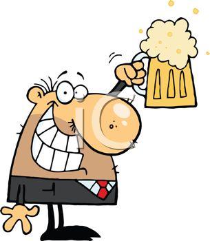 305x350 Beer Party Clip Art