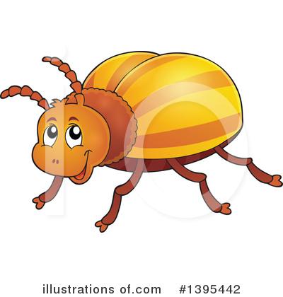 400x420 Beetle Clipart
