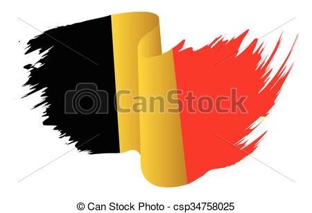 450x307 Belgium Flag Vector Symbol Icon Design. Belgian Flag Color