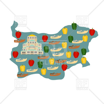 400x400 Free Vector Map Belgium Map And Flag Royalty Free Vector Clip Art