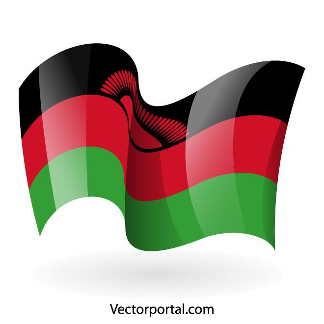 660x660 Malawi Flag Clip Art