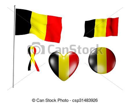 450x357 The Belgium Flag