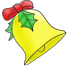 236x236 Christmas Clip Art Bell Free Clipart Images