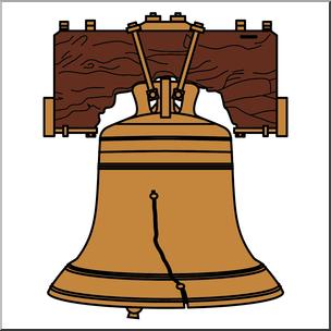 304x304 Clip Art Liberty Bell Color I Abcteach