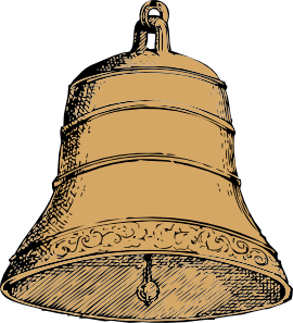 270x297 Old Bell Clip Art