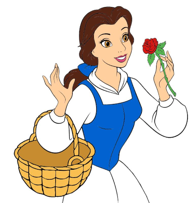 772x800 Disney Princess Belle By Princess Wilda