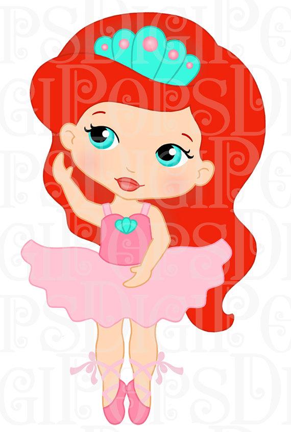 570x845 Ballerine Clipart Belle
