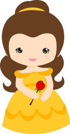 236x449 Adorable ~ Princesse Belle Chibi ~ La Belle Et La