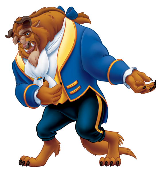 551x600 Beauty And The Beast Png Clipart Disney's Beauty And The Beast