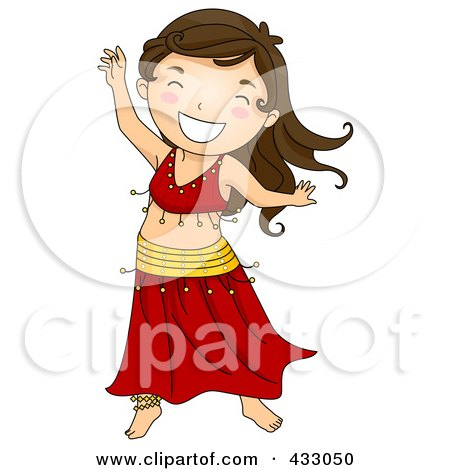 450x470 Royalty Free (Rf) Belly Dance Clipart, Illustrations, Vector