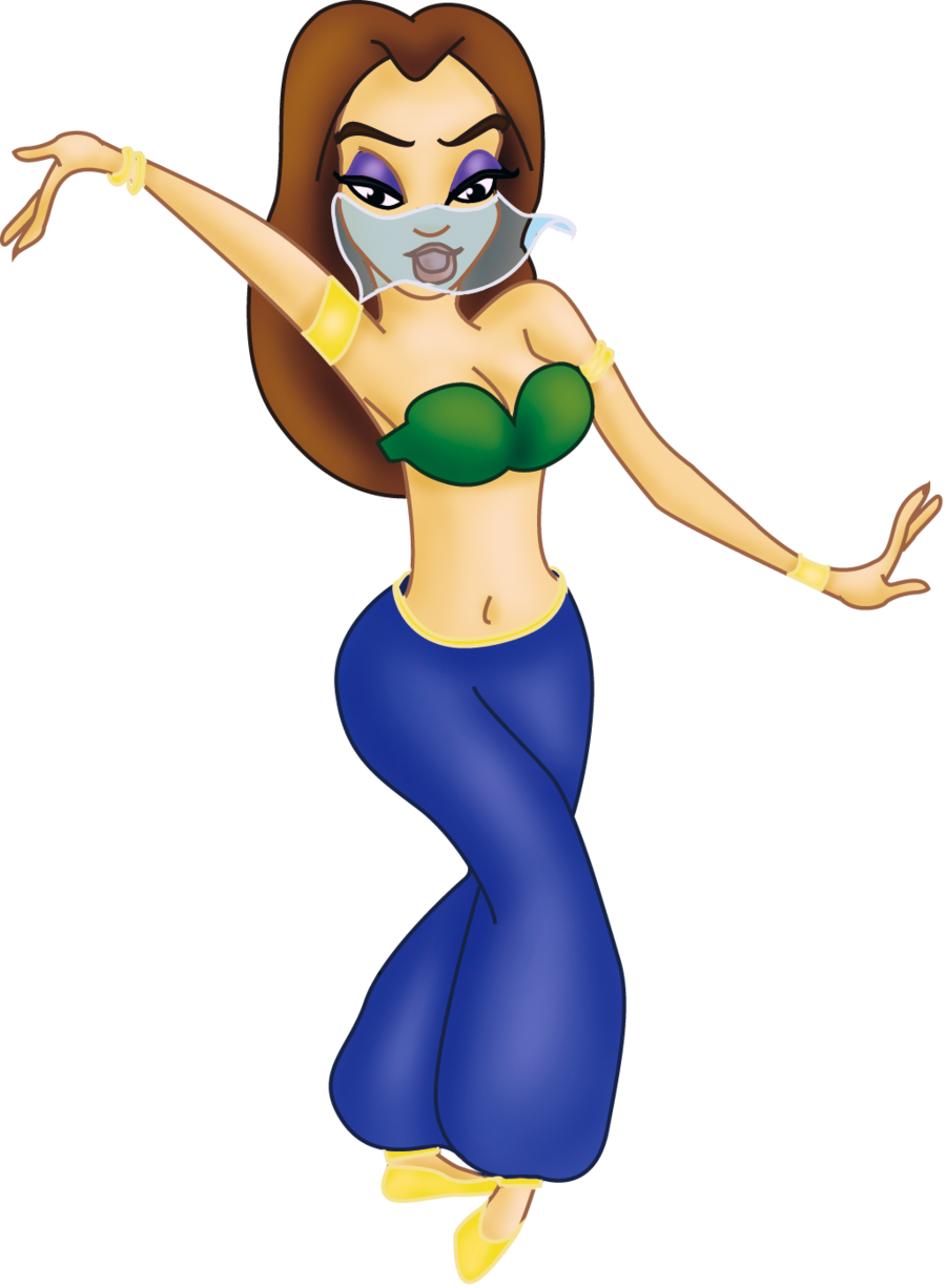 900x1226 Comission Belly Dancer Melody By Sonala