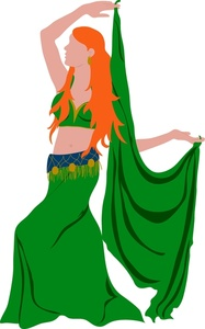 187x300 Free Belly Dancer Clipart Image 0515 1007 2302 0829 People Clipart