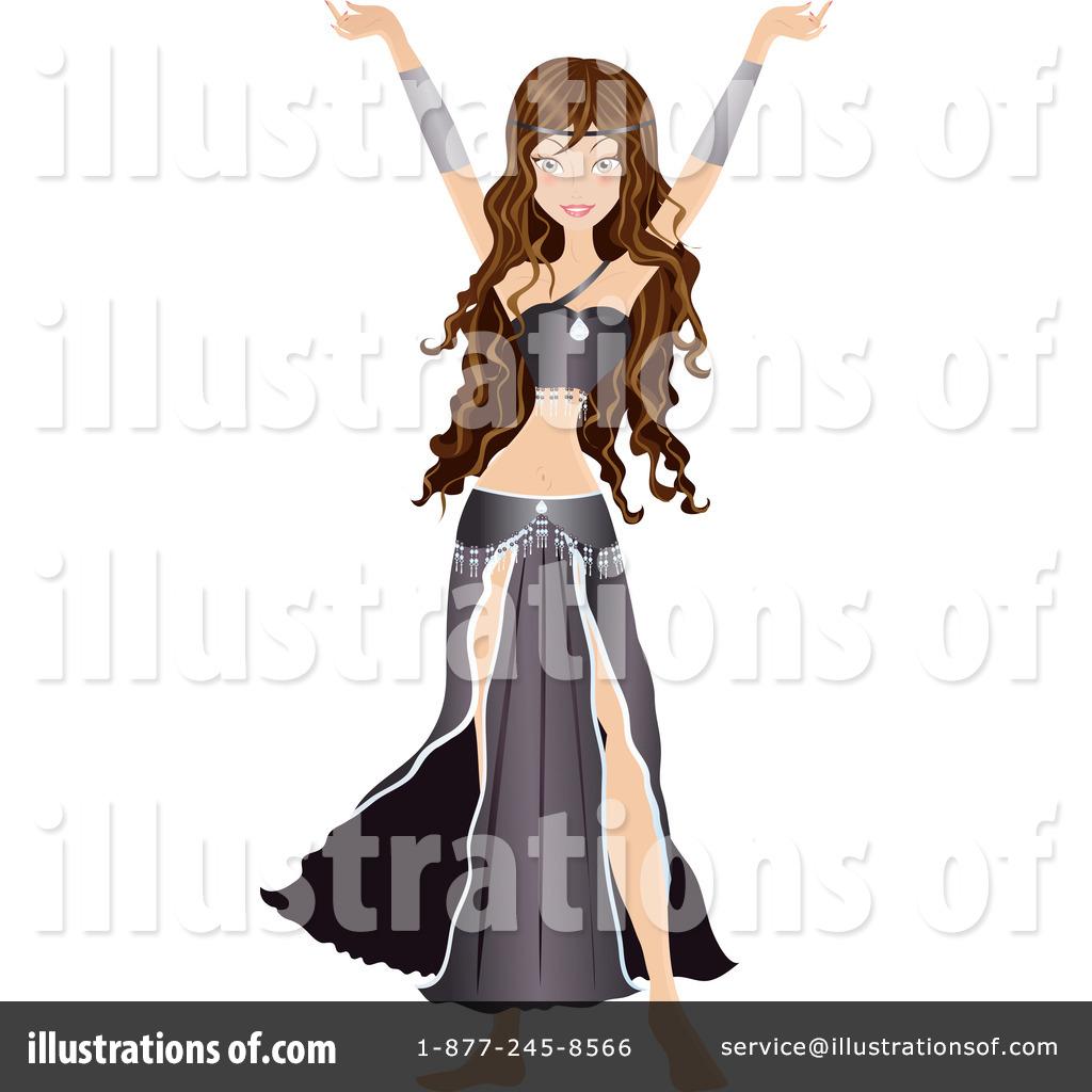1024x1024 Belly Dancer Clipart