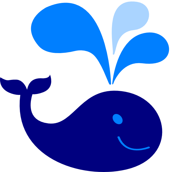 594x596 Whale Clipart Baby Shower