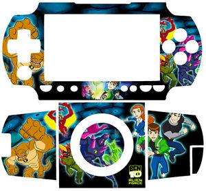 300x278 Ben 10 Ten Alien Force Skin Sticker For Psp 1000 Fat Ebay