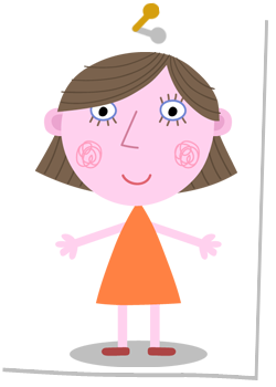 250x350 Ben And Holly Clipart